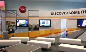 CES 2011 Cnet booth