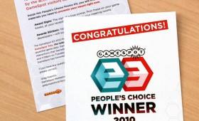 E3 winner goodie bag