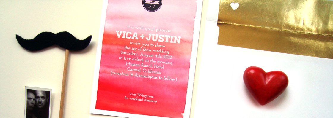 JVDay Wedding Invites/Site